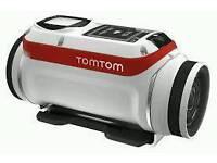 Tom Tom Action Bandit Camcorder 4k. White. Brand New.