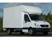 Luton man with van. Largest van available