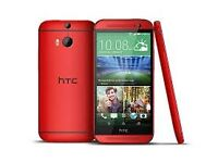 Limited Edition Red Sim Free HTC ONE M8