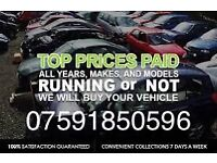Wanted car van 4x4 vehicle any condition scrap dispose recycle instant cash uplift