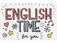 English Lesson - IELTS / FCE / CAE / General English - group lesson - FREE conversation club also