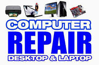 Computer Repair / Laptop Repair / Free Estimates ***