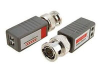 cctv camera connector video balun pack of 2