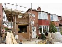 skilled team specilising in groundworks, brickworks, extensions, landscaping, complete build package