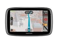 TomTom Go 5000 5-inch Car Sat Nav System Full Lifetime European Maps & Lifetime Traffic Updates NEW