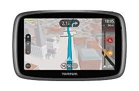 TomTom Go 5000 NEW 5-inch Car Sat Nav System Full Lifetime European Maps & Lifetime Traffic Updates