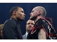 George Groves v Eubanks Jr Ringside Seats