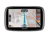 TomTom Go 5000 NEW 5-inch Car Sat Nav System Full Lifetime European Maps & Lifetime Traffic Updates.