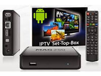 12 month gifts iptv boxes overbox mag250 nt skybox