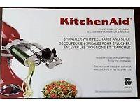 KitchenAid Spiralizer with peel, core and slice