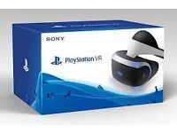 PS4 VR. Playstation 4 Virtual Reality. BRAND NEW AND SEALED