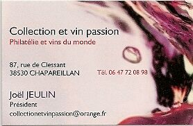 collection et vin passion