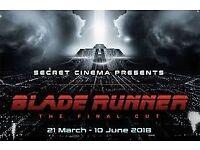 Secret Cinema * Phoenix* Face Value £69 - 6 available- will split Sunday 03.06.18