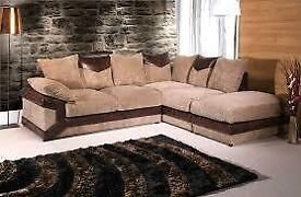 *** CHRISTMAS SPECIAL OFFER *** DINO JUMBO CORD CORNER SOFA IN DIFFERENT COLORS AVAILABLE