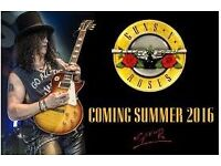 2x Guns 'N' Roses Tour 2017 Tickets (London - Standing - Saturday)