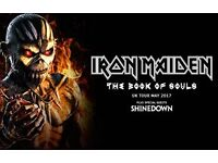 iron maiden concert TICKET £45 INSTEAD OF £65