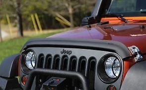 Rugged Ridge - Déflecteur de capot, Noir Mat 07-16 Jeep