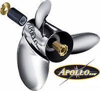 Brand NEW Apollo Propellers Stainless Steel All Sizes In Stock