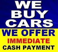WE BUY( SCRAP) CARS/TRUCKS / VANS /SAME DAY FREE PICKUP.CASH