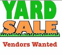 *******GIANT YARD SALE VENDORS WELCOME*******