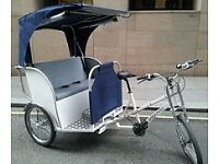 Rickshaws service for events and festivals