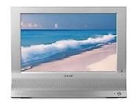 "TV Sony 19 "" lcd tv and monitor multi function display"
