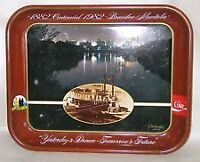 Sealed box of 24 Coke trays - Brandon Centennial 1882-1982