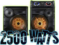 Rent GiGA Sound system For Your Next Party 2500 WATTS