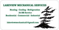 Heating, cooling , refrigeration service