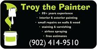 Troy the Painter, Painting & small repairs (902) 414-9510