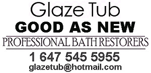 Bathtub, Tiles and  Sink Refinishing, Chip and Crack Repairs