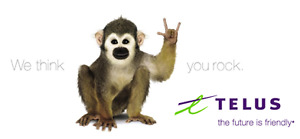 $50 - TELUS PLAN 6GB UNLIMITED CANADA WIDE NO CONTRACT needed