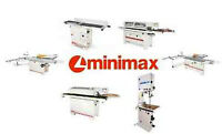 New MiniMax Woodworking Machines. Table saws planers jointers