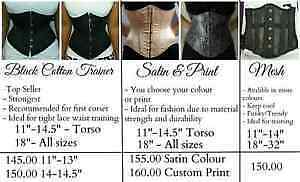 all sizes avalible - Corset Waist Trainers