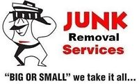 Junk garbage removal and moving starting from $50