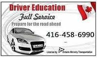 EMERGENCY TEST BOOKING 1-2days,DRIVING School,TORONTO Instructor