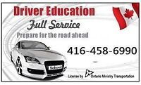 EMERGENCY ROAD TEST in 1-2days,DRIVING School,TORONTO Instructor