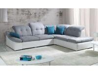 brand new corner sofa bed with storage
