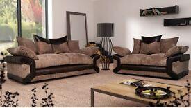 ##Free footstool## brand new 3n2 sofas