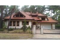Beautiful house for rent located in Izabelin - kampinos national park, 20 minute drive to Warsaw