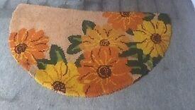 Flowered Rug