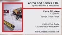 Quality Renovations, Repairs, and Handyman jobs