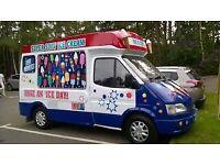 Soft Ice Cream Van Carpiagiani Machine Ford Transit Good Reliable Vehichle