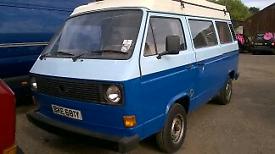 1981 VW camper T25 bus