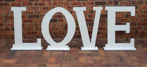 Large LOVE letters and MR & MRS letters for hire Greenway Tuggeranong Preview