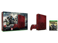 LIMITED EDITITION* Xbox One S Gears of War4 Bundle/Crimson Red /Controller 2TB LIMITED EDITITION*