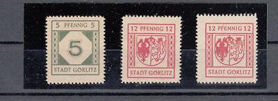Deutsche Lokalausgaben Göritz 5, 8 x, y postfrisch