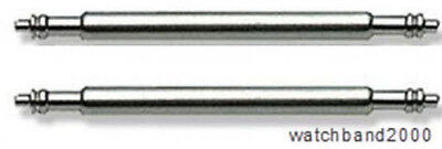15mm (2) Watchband Spring Bar Pin for ladies rolex tag movado swiss watch