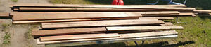 """OLD FIR s4s 2""""-3 1/4 × 14' (Barnwood with nail holes)"""