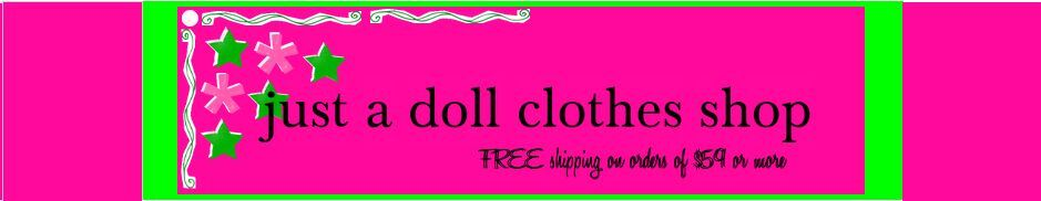 just a doll clothes shop